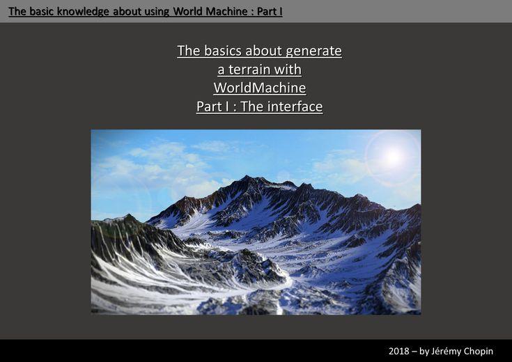 World Machine Tutorial – Wonderful Image Gallery
