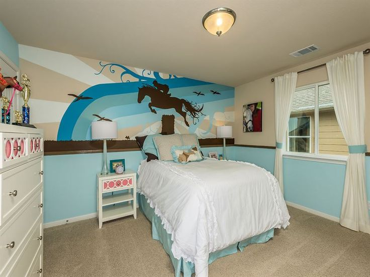 17 best images about teen girl decorating ideas on for Bedroom ideas for horse lovers