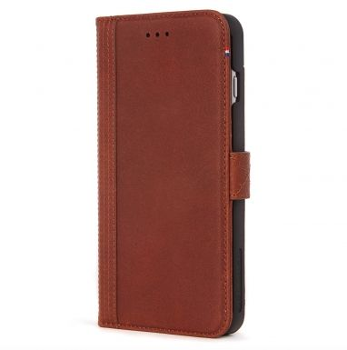 Decoded Wallet Case iPhone 7 Plus/6(s) Plus bruin  SHOP ONLINE: http://www.purelifestyle.be/shop/view/technology/iphone-beschermhoezen/decoded-wallet-case-iphone-7-plus-6s-plus-bruin