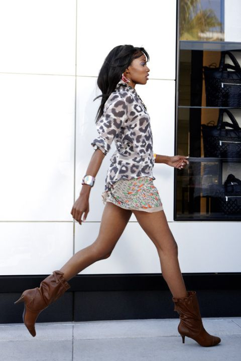 Cycle 15: Kacey Leggett- Walking Down Rodeo Drive: By Oneself