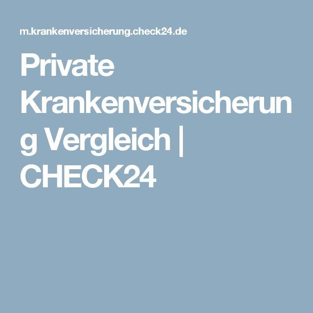 Private Krankenversicherung Vergleich | CHECK24