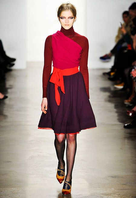 Sophie Theallet Fall-Winter 2012.  7 MINUTES AGO