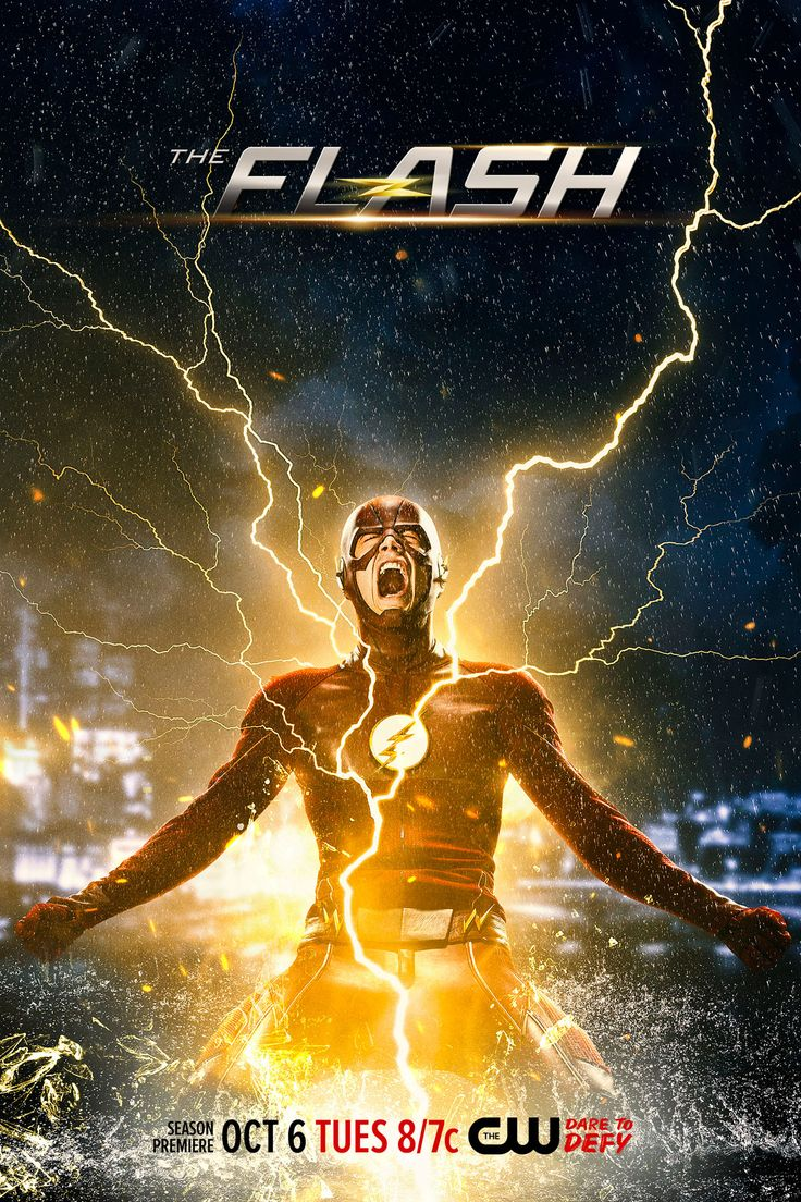 Only 3 weeks until the electrifying season premiere of The Flash!