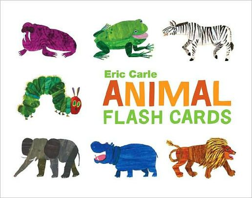 World of Eric Carle(TM) Eric Carle Animal Flash Cards