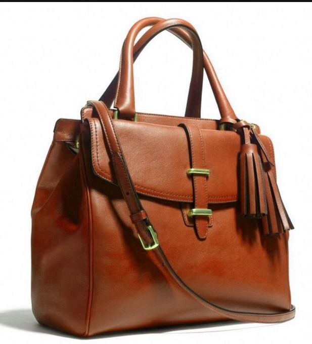 nwt coach legacy cognac brown brass leather north south satchel tote 26261 458 now 289 coach. Black Bedroom Furniture Sets. Home Design Ideas