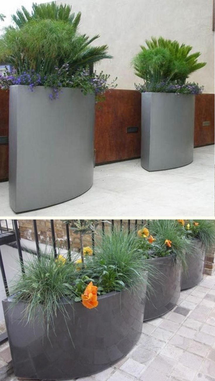 Buy Geo Oval Planter The Worm That Turned Revitalising Your Outdoor Space Planters Large Garden Planters Large Planters