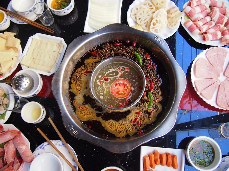 Китайская еда, согревающая в холода