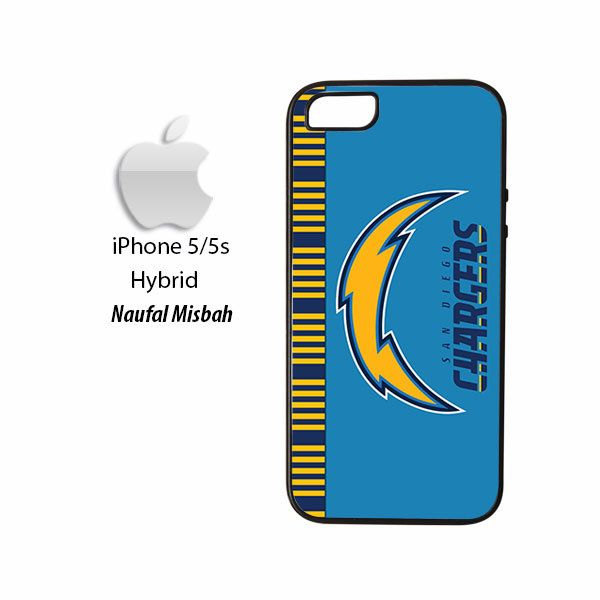San Diego Chargers Inspired iPhone 5/5s HYBRID Case Cover