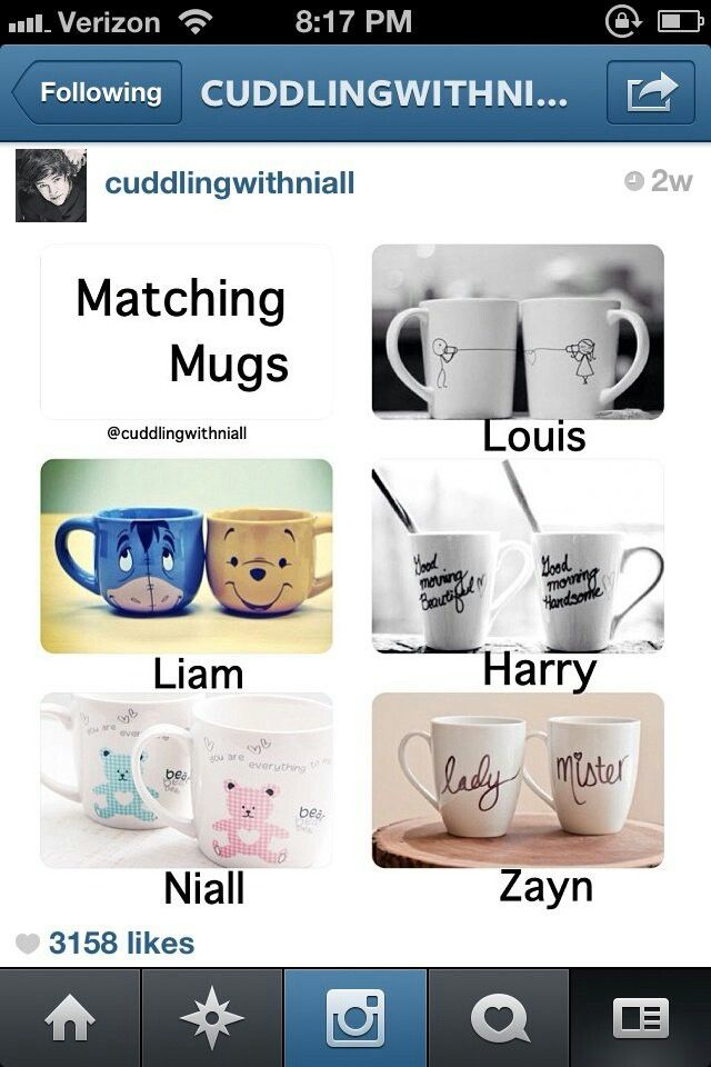 One Direction Preferences I'm a Harry girl but I love Liam' s