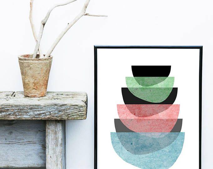 imprimir diseo escandinavo impresiones pared arte impresin de arte abstracto arte