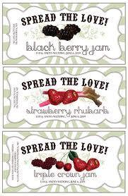 1000+ images about Jam jar labels and presentation on Pinterest ...