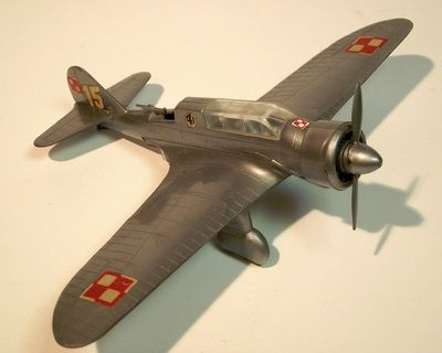 PZL P-23A Karas by ZP Ruch. Details: http://pufiland.weebly.com/planes.html