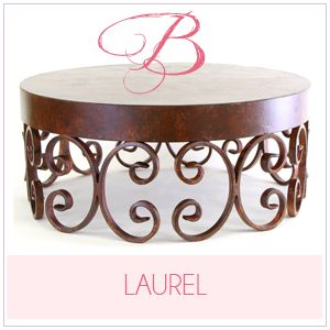 Nola B. - Fabulous Cake Stands | Scrolled Cake Stand