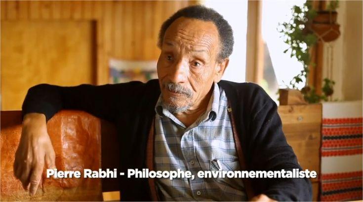 """Agriculteur, écrivain et penseur français d'origine algérienne, Pierre Rabhi est un des pionniers de l'agriculture biologique et l'inventeur du concept """"Oasis en tous lieux""""."""