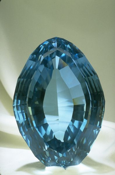 The vivid hues of Blue Topaz, one of December's gemstones, results from treating pale or white topaz with irradiation and heat.