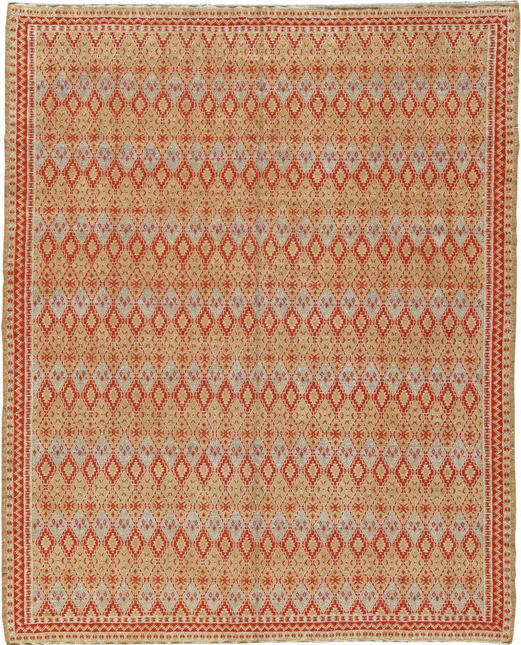 Vintage Rugs: Vintage Rug Moroccan interior decor, colorful rug in ...