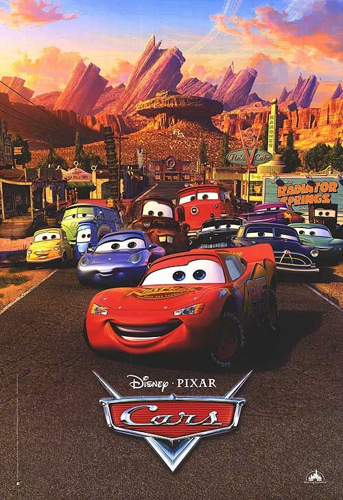 Cars---Our daughter loved this movie.  For Halloween that year, she was the only little girl at her preschool dressed as Lightning McQueen.