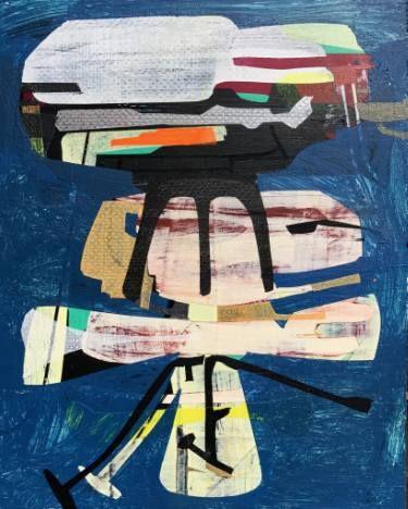 """Saatchi Art Artist Jim Harris; Painting, """"Joseph von Fraunhofer Probe."""" #art"""