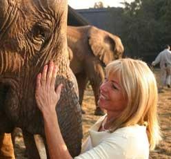 Elephant Sanctuary in Hartbeespoort Dam