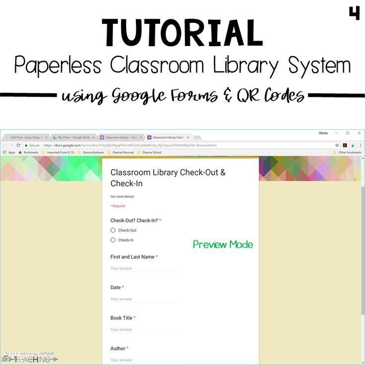 10 Steps To A Paperless Classroom Library System Classroom