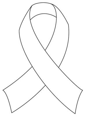 1000 images about coloring cancer awareness on for Cancer ribbon coloring page