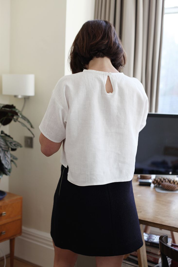 Simple Linen T-Shirt Tutorial