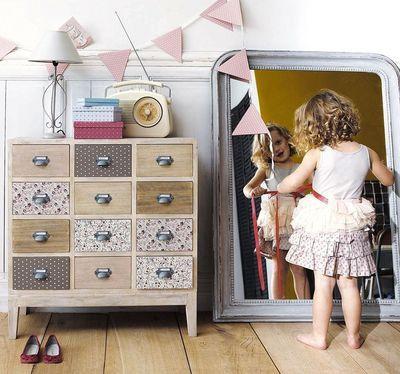 Des idées pour des chambres de filles !! Une chambre de petite fille pour voir la vie en rose - CôtéMaison.fr