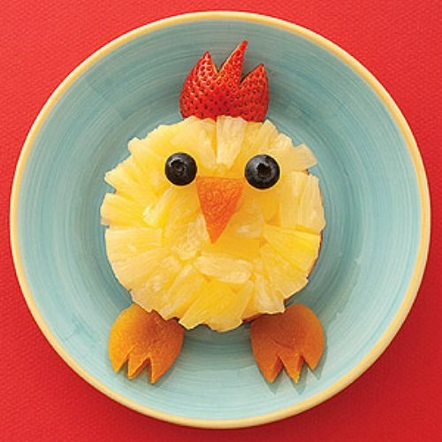 Fun Food Ideas   Lots of fun and healthy Easter food ideas. The kids will love these!