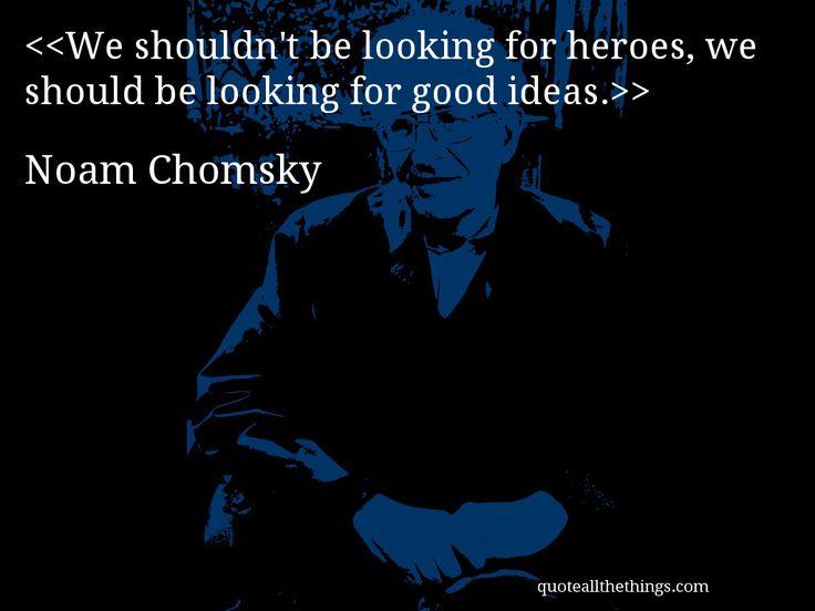 Noam Chomsky - quote -- > #quote #quotation #aphorism
