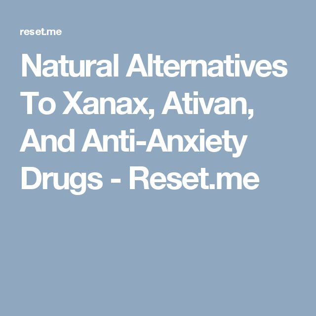 xanax or ativan for flying anxiety