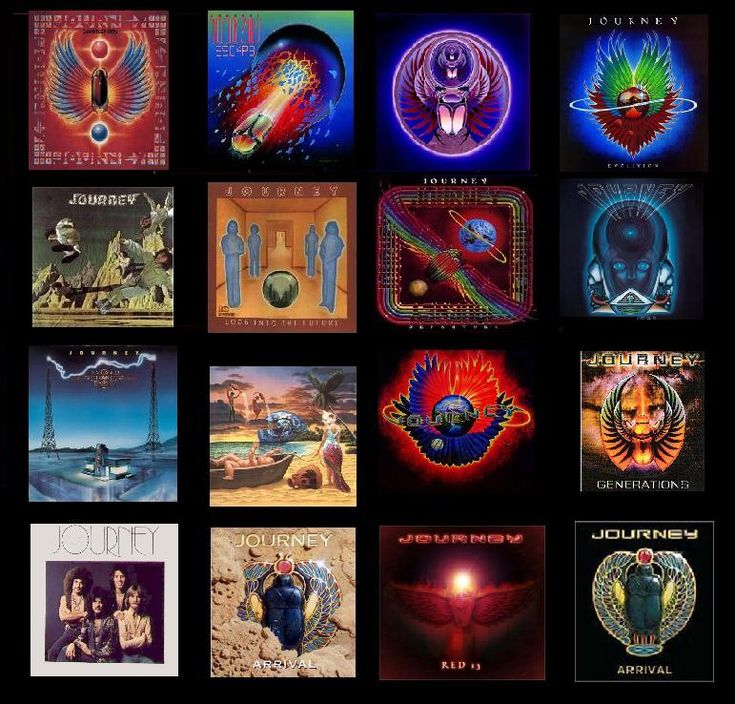 picture of all the journey albums | Journey Albums by ...