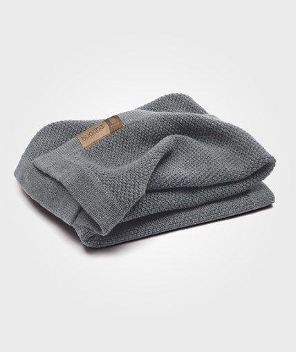 Bugaboo Wool Blanket Grey Melange