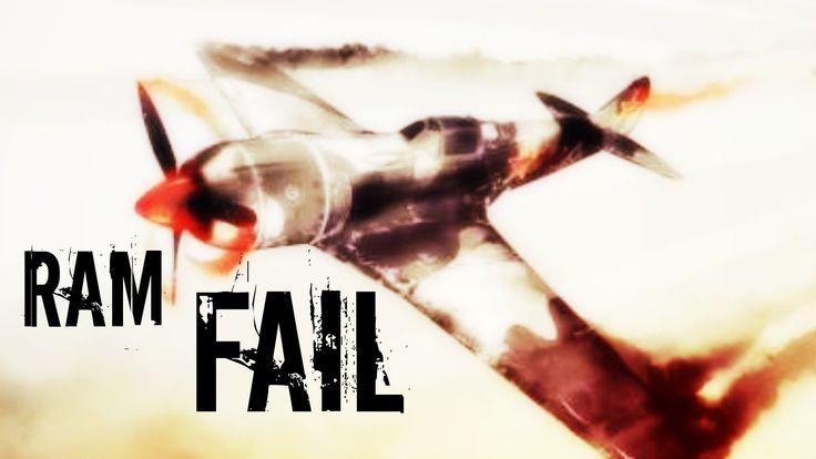 War Thunder Ram Fail - Never Ram A Russian Plane