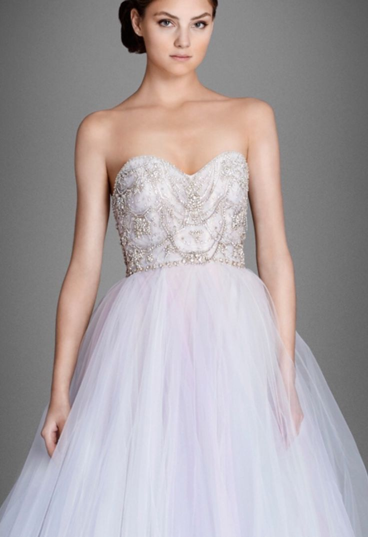 Lazaro 3555 Fall 2015 Lilac Purple And Blue Ball Gown