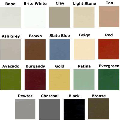 Metal Roof Colors Master Steel Roofing Metal Roofing