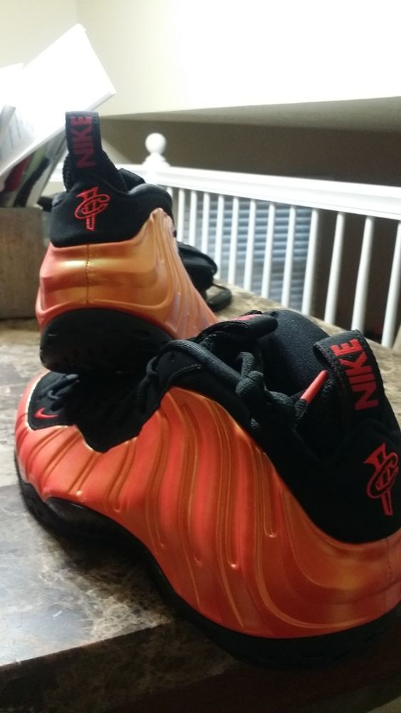 b64a11ad5ee9e7 Nike Air Foamposite One Habanero Red 314996-603 Black Habanero Red Size 11   fashion  clothing  shoes  accessories  mensshoes  athleticshoes (ebay link)
