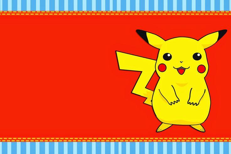 Las Mejores Invitaciones De Pokemon Para Imprimir Http