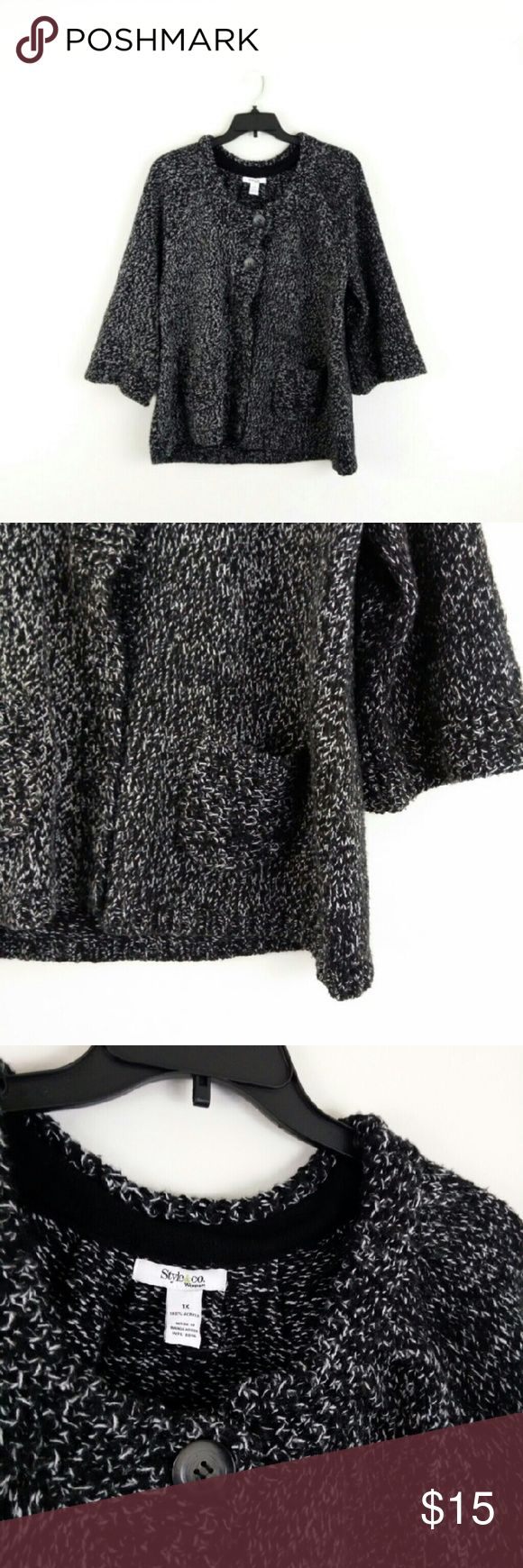 30% off 2+ Bundle - New! Cozy Sweater Jacket 30% off 2+ Bundle   ***I ship Monday/Wednesday/Friday Style & Co Sweaters