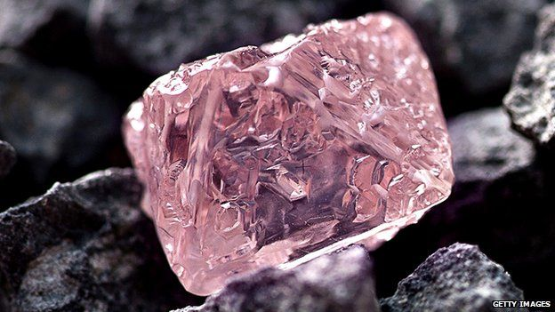 Pink Diamond - Largest ever found 12.76 k in Australia