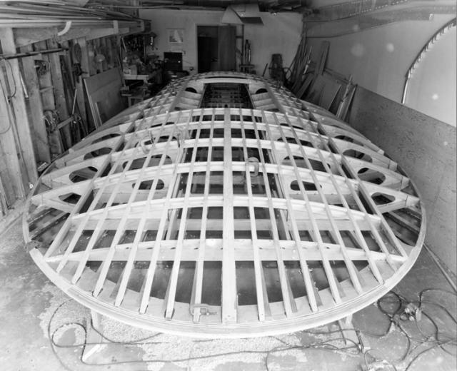 Unlimited #Hydroplane U40 Miss Bardahl under construction ...