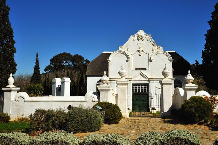 Cape Dutch, a photo from Western Cape, West | TrekEarth