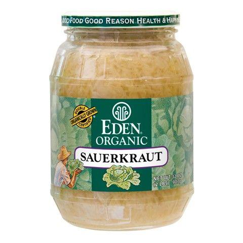 Sauerkraut - fine cut , Organic - Eden Organic