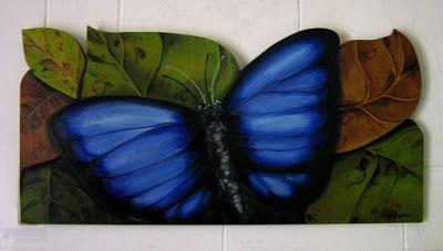 """borboleta azul"""