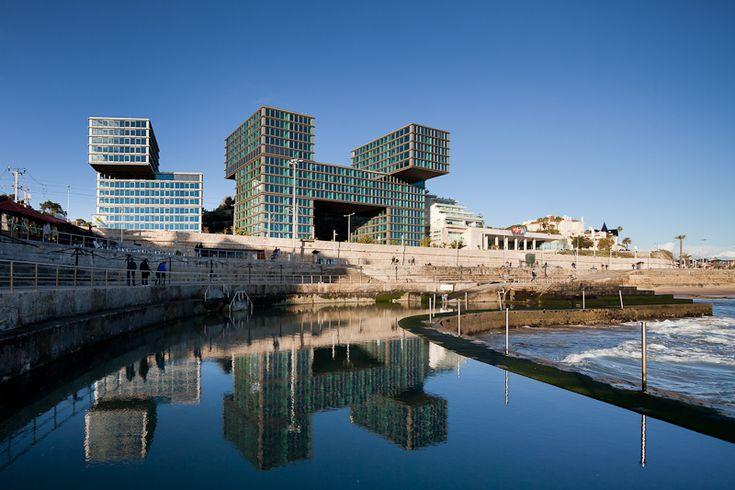 Estoril-Sol Residence . Gonçalo Byrne Arquitectos