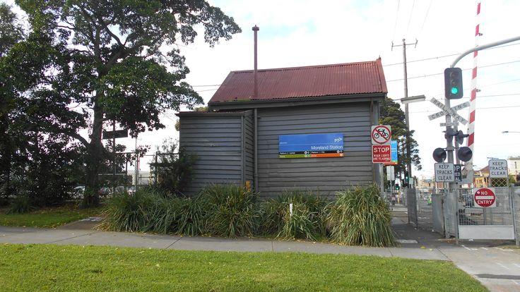 Moreland Station signal box   2017