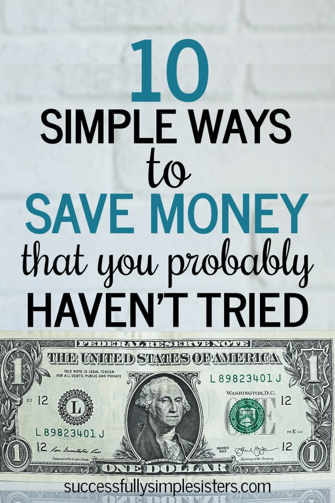 Do you constantly struggle to save money for those big expenses? Read our 10 simple ways to save money (that you probably haven't tried yet!) Learn how to save money  in an easy, efficient manner that doesn't waste your time! #money #savemoney #finance