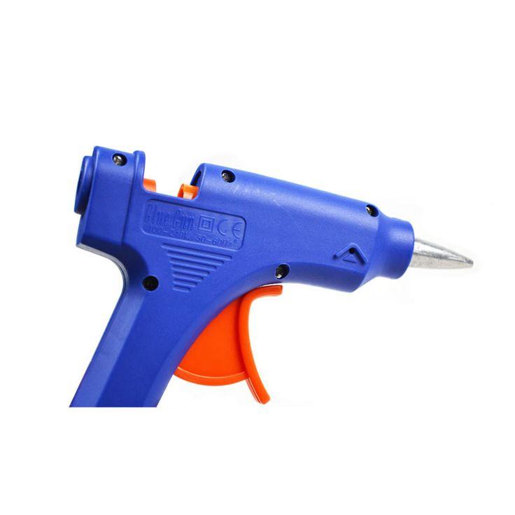 20 W EU Plug Hot Melt Glue Gun com 7mm Bastão de Cola Industrial Mini Armas Thermo Temperatura de Calor Elétrico ferramenta