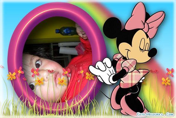 Marco Para Fotos Con Minie Mouse   Programas Para Editar Fotos