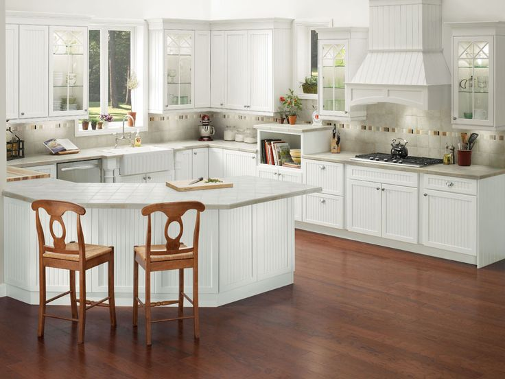 Brookfield Maple In Dove White Imparts The Timeless Look