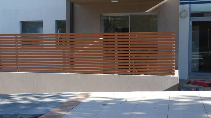 Sahara; screening for multi residential #ModWood #Screen #Fence
